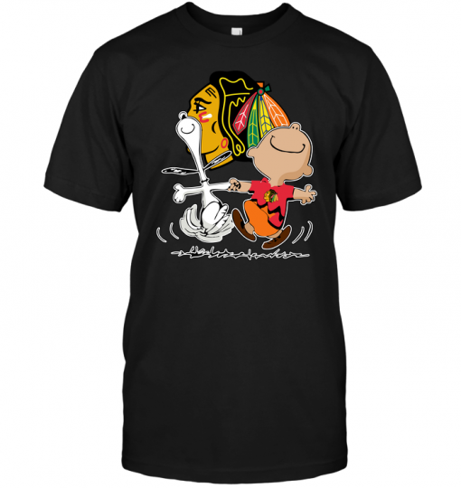 Charlie Brown & Snoopy: Chicago Blackhawks