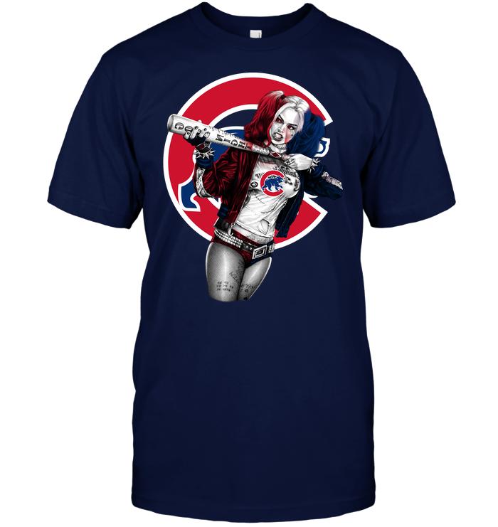 Harley Quinn Chicago Cubs T Shirt Buy T Shirts