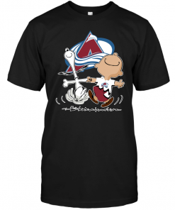 Charlie Brown & Snoopy: Colorado Avalanche