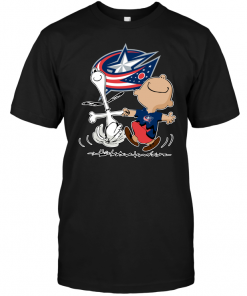 Charlie Brown & Snoopy: Columbus Blue Jackets