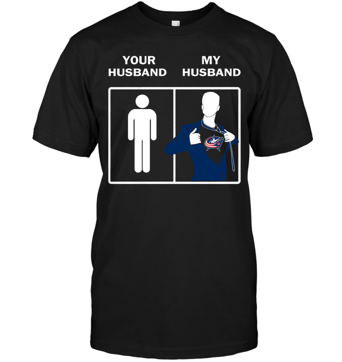 Columbus Blue Jackets: Your Husband My Husband
