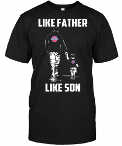 Detroit Pistons: Like Father Like Son