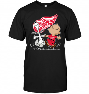 Charlie Brown & Snoopy: Detroit Red Wings
