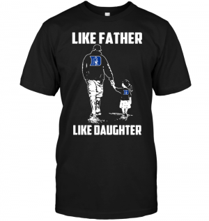 Duke Blue Devils: Like Father Like Daughter