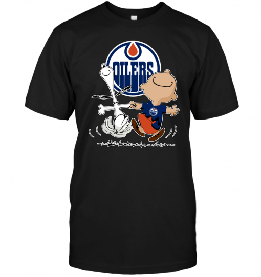 Charlie Brown & Snoopy: Edmonton Oilers