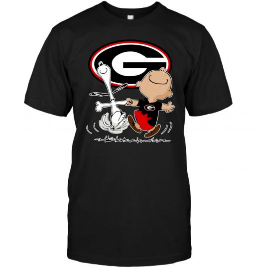 Charlie Brown & Snoopy: Georgia Bulldogs