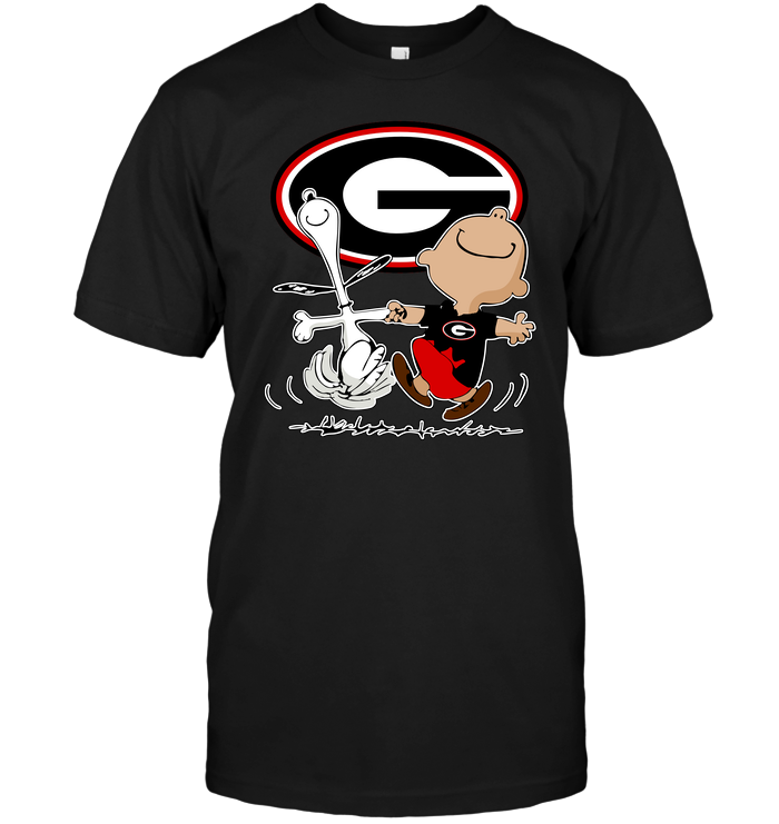 Charlie Brown & Snoopy: Georgia Bulldogs