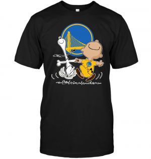 Charlie Brown & Snoopy: Golden State Warriors
