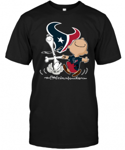 Charlie Brown & Snoopy: Houston Texans