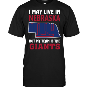 I May Live In Nebraska But My Team Is The New York Giants