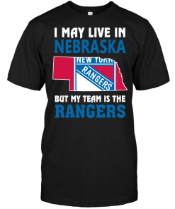 I May Live In Nebraska But My Team Is The New York Rangers