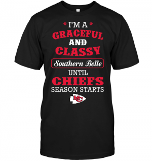 I'm A Graceful And Classy Southern Belle Until Chiefs Season Starts