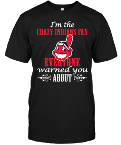 I'm The Crazy Indians Fan Everyone Warned You AboutI'm The Crazy Indians Fan Everyone Warned You About