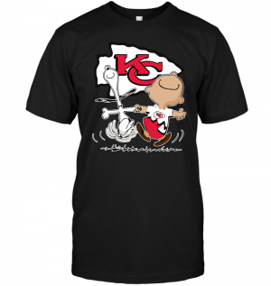 Charlie Brown & Snoopy: Kansas City Chiefs