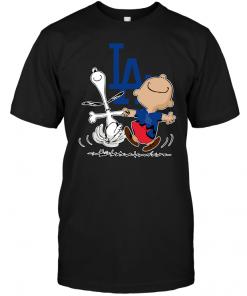 Charlie Brown & Snoopy: Los Angeles Dodgers