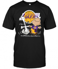 Charlie Brown & Snoopy: Los Angeles Lakers