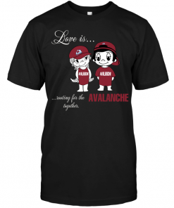 Love Is Rooting For The Avalanche Together