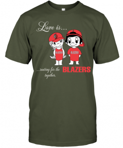 Love Is Rooting For The Blazers Together