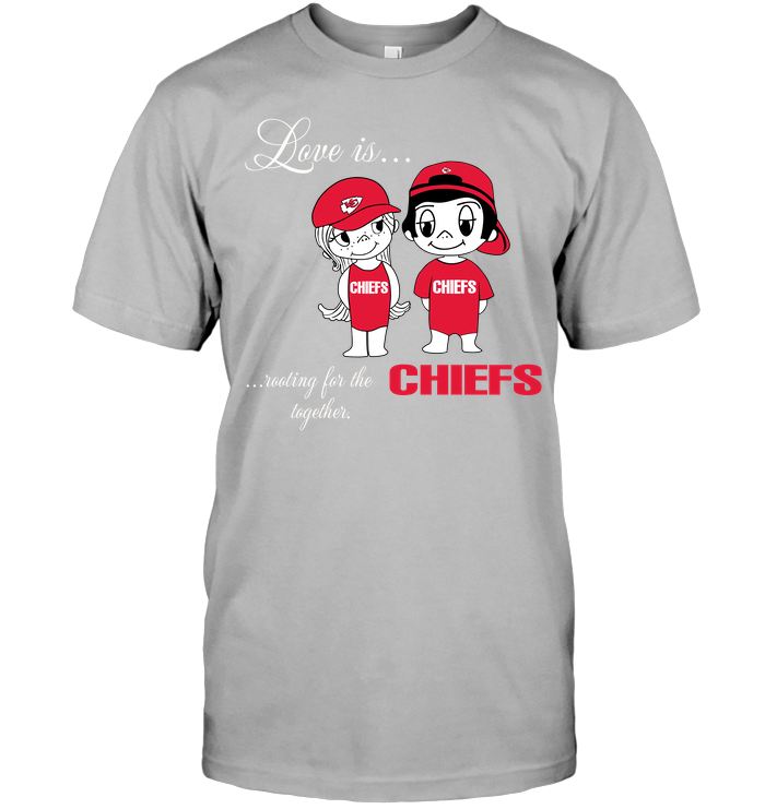 Love Is Rooting For The Chiefs Together