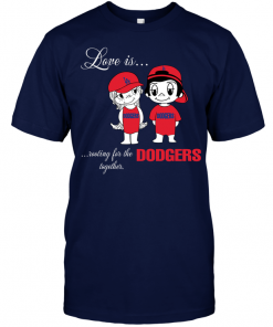 Love Is Rooting For The Dodgers Together