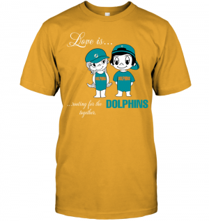 Love Is Rooting For The Dolphins Together