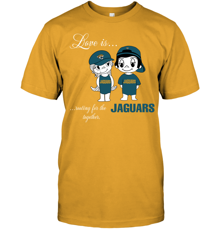 Love Is Rooting For The Jaguars Together