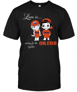 Love Is Rooting For The Oilers Together
