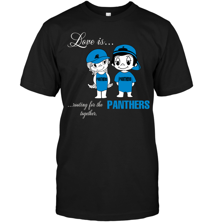 Love Is Rooting For The Panthers Together