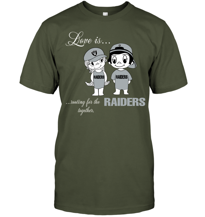 Love Is Rooting For The Raiders Together
