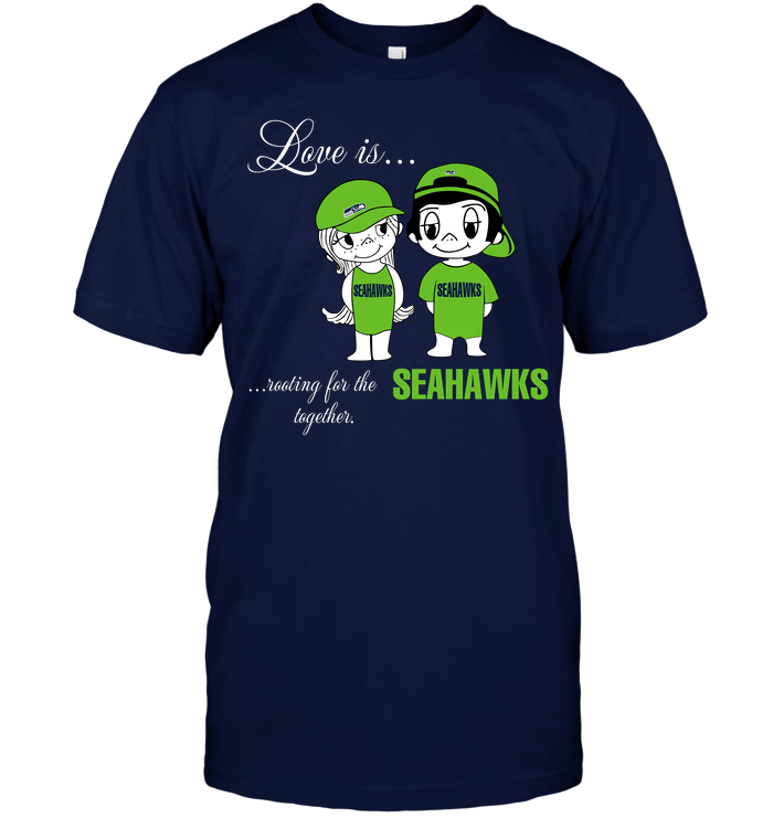 Love Is Rooting For The Seahawks Together