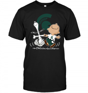 Charlie Brown & Snoopy: Michigan State Spartans