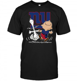 Charlie Brown & Snoopy: New York Giants
