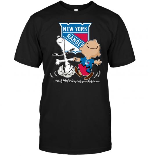 Charlie Brown & Snoopy: New York Rangers