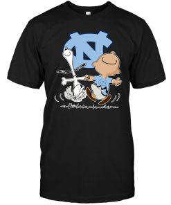 Charlie Brown & Snoopy: North Carolina Tar Heels