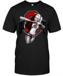 Harley Quinn: Ohio State Buckeyes