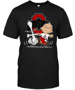 Charlie Brown & Snoopy: Ohio State Buckeyes