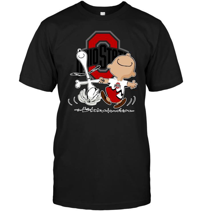 Charlie Brown & Snoopy: Ohio State Buckeyes