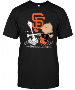 Charlie Brown & Snoopy: San Francisco Giants