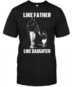 San Jose Sharks: Like Father Like Daughter