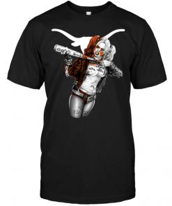 Harley Quinn: Texas Longhorns