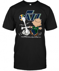 Charlie Brown & Snoopy: Utah Jazz