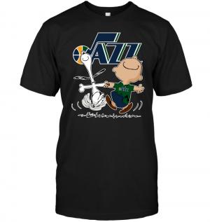 Charlie Brown & Snoopy: Utah Jazz