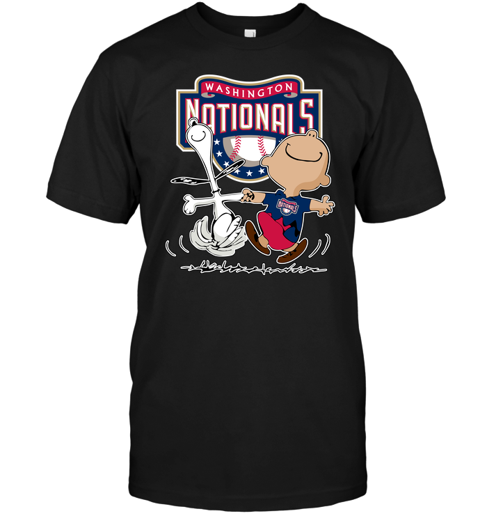 Charlie Brown   Snoopy  Washington Nationals T-Shirt - Buy T-Shirts ... a3d6e9647