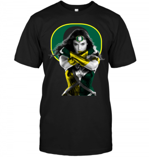 Wonder Woman: Oregon Ducks