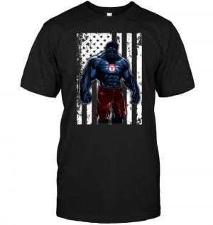 Giants Hulk Texas Rangers