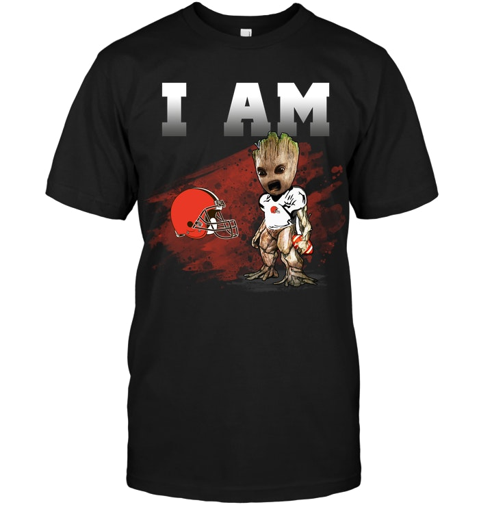 Cleveland Browns I Am Groot T Shirt Buy T Shirts