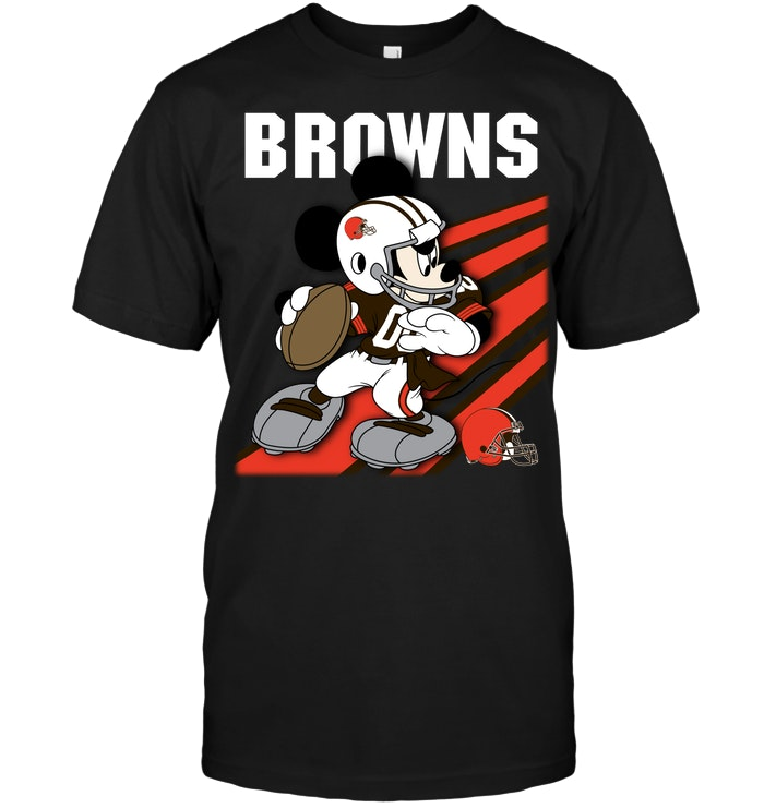 Cleveland browns mickey mouse disney t shirt buy t for Cleveland t shirt printing