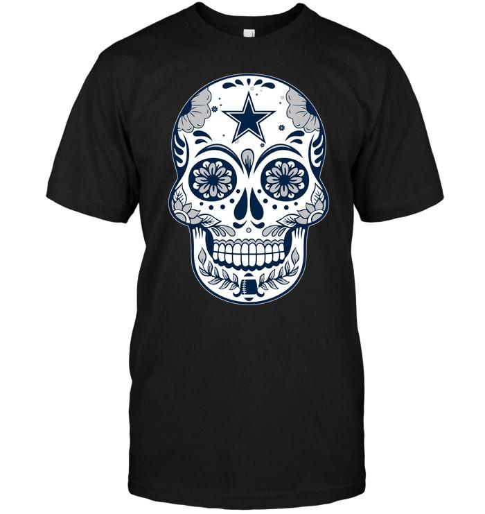 Dallas Cowboys Sugar Skull T Shirt Buy T Shirts