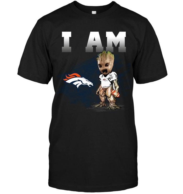 Denver Broncos I Am Groot T Shirt Buy T Shirts