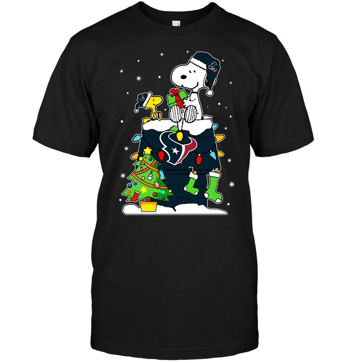 Snoopy And Woodstock Christmas.Houston Texans Snoopy Woodstock Christmas